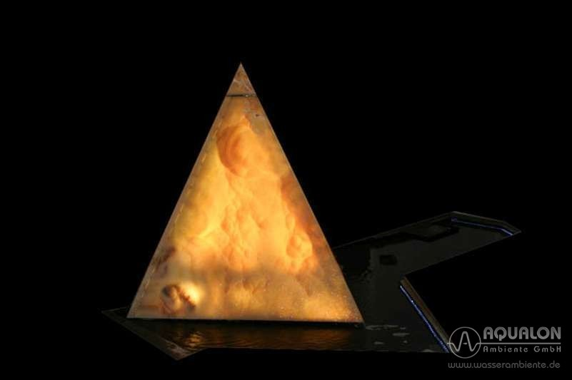 "Wasserwand ""Aqualon Pyramis"""
