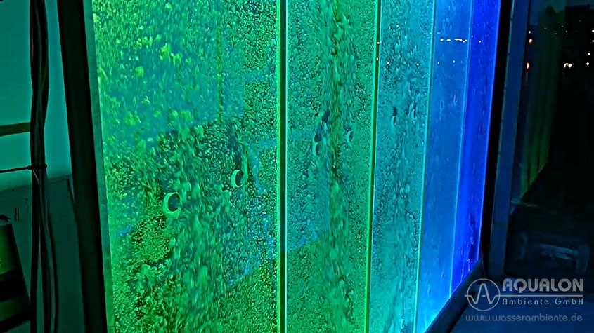 "Luftsprudel Wasserwand - Bubblewall - Aqualon ""Cristallo Miracolo"""