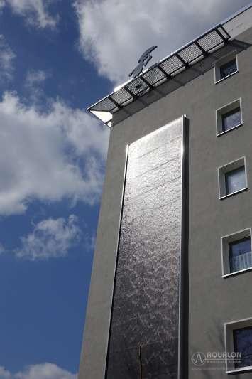 """Wasserwand aus Naturstein """"Aqualon Infinity"""""""
